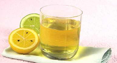 Рецепт: Напиток лимонный.