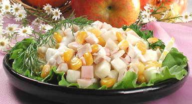 Салаты с кальмарами и кукурузой и огурцом рецепты с