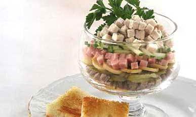 Салат мясной ассорти рецепт с