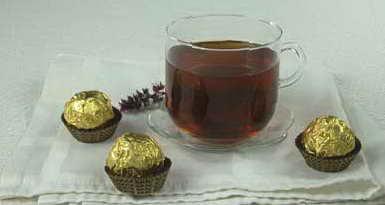 Рецепт: Напиток чайный с майораном.