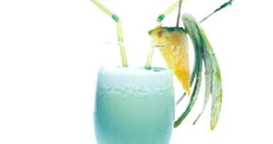 "Рецепт: Коктейль  ""Голубые Гавайи """